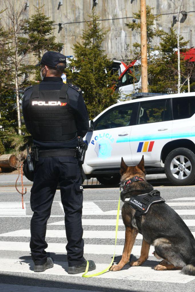 Guías Caninos en la XXVII Cumbre Iberoamericana de Jefes de Estado y de Gobierno
