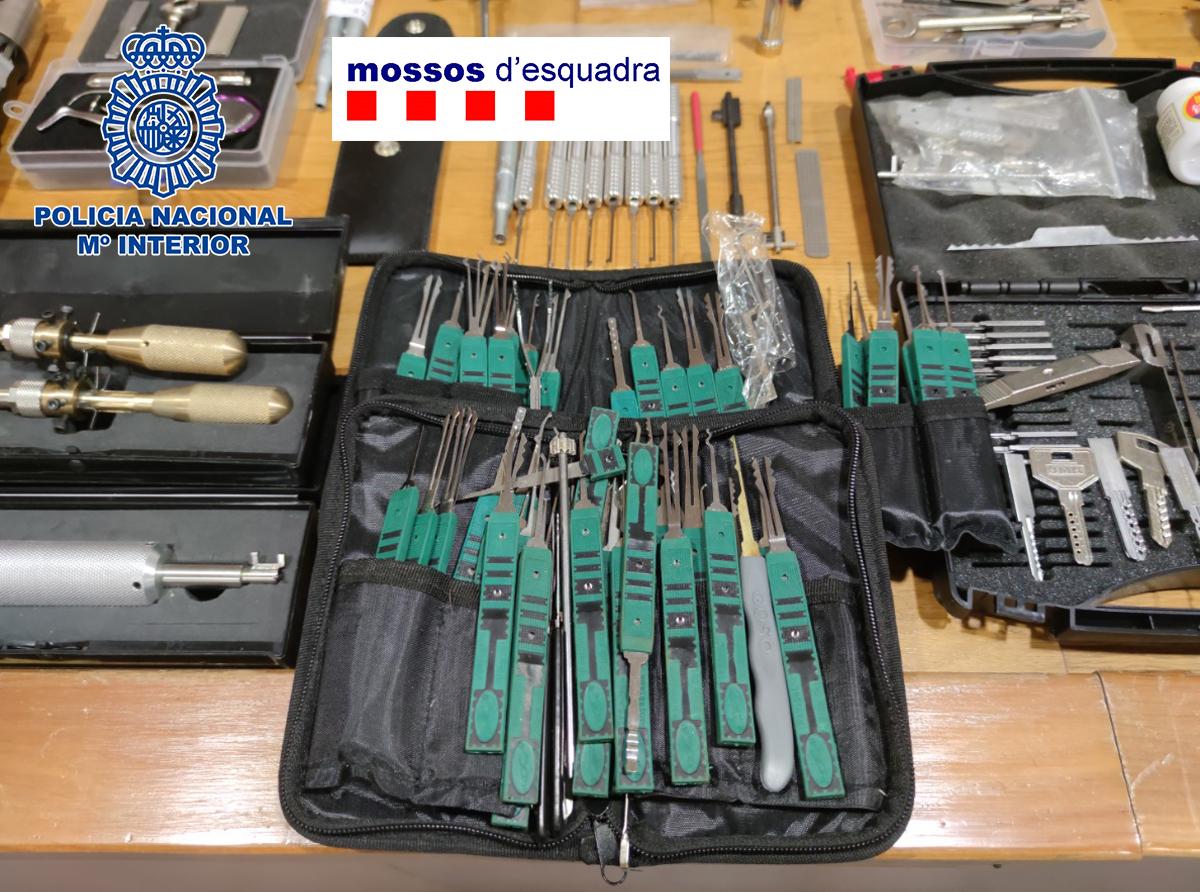 Herramientas para ejecutar los robos